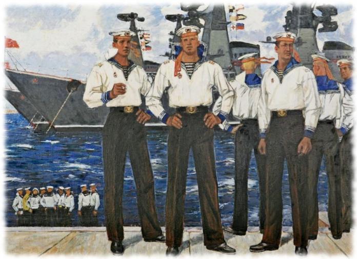 Почему моряки носят тельняшки?