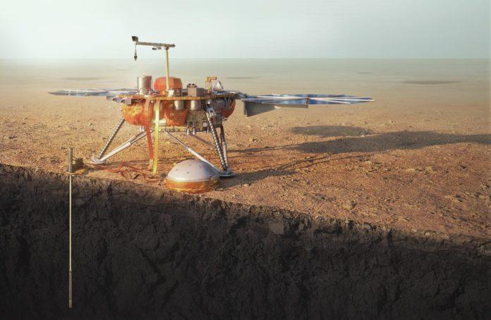 Под поверхностью Марса может находиться жизнь