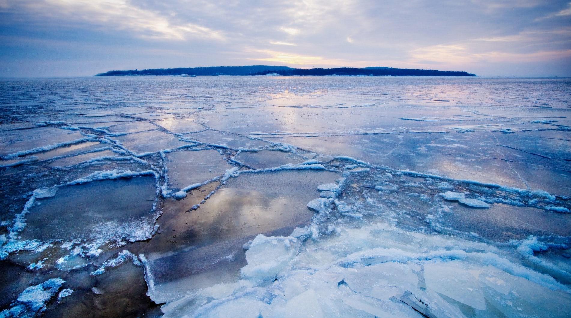 Морской лед