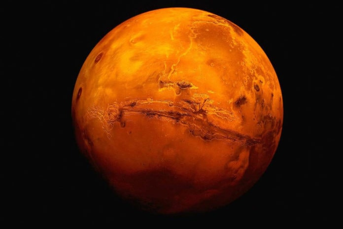 Марс - строение, описание, атмосфера