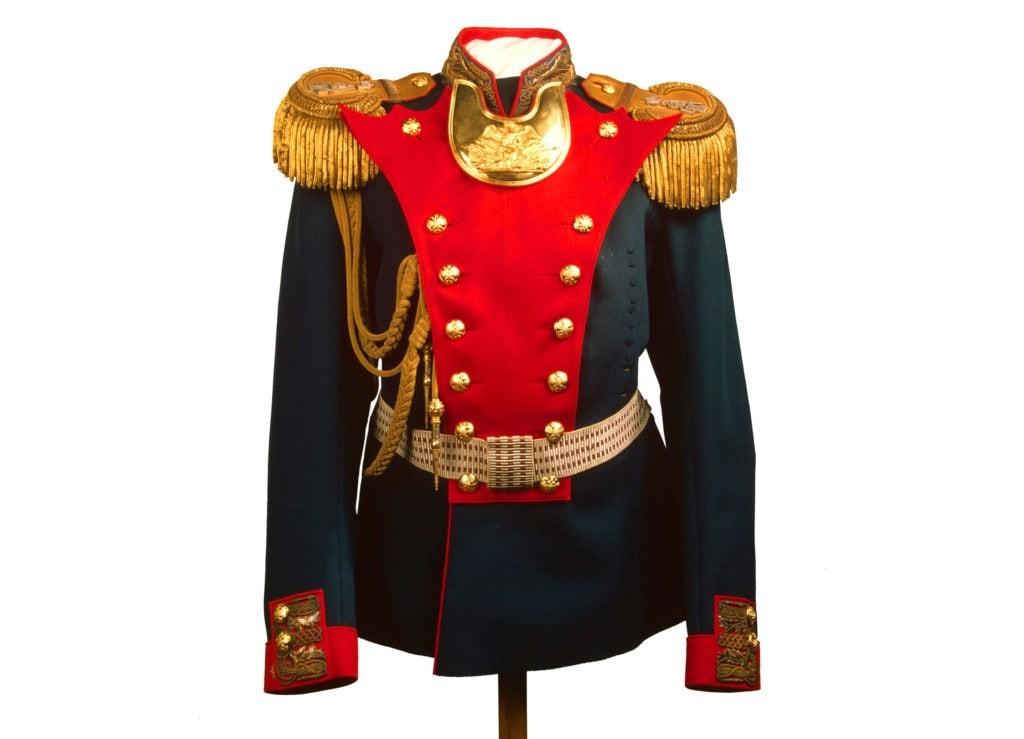 Мундир офицерский Лейб-гвардии Гренадерского полка, принадлежавший Николаю II