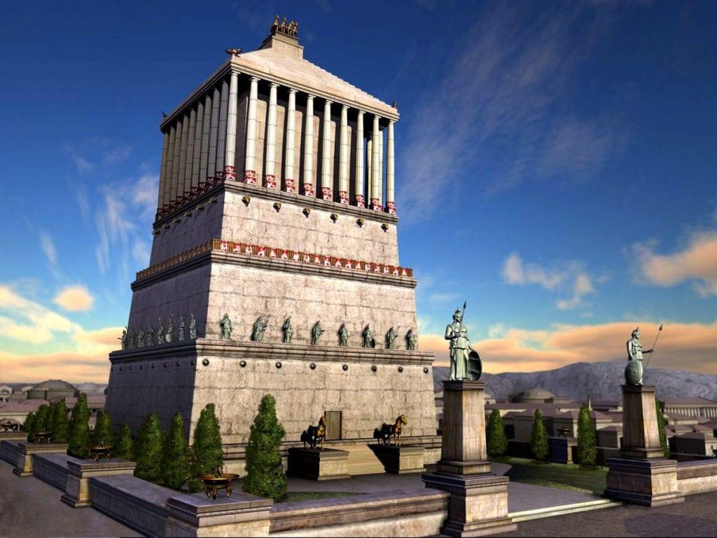 Каким был мавзолей в Галикарнасе