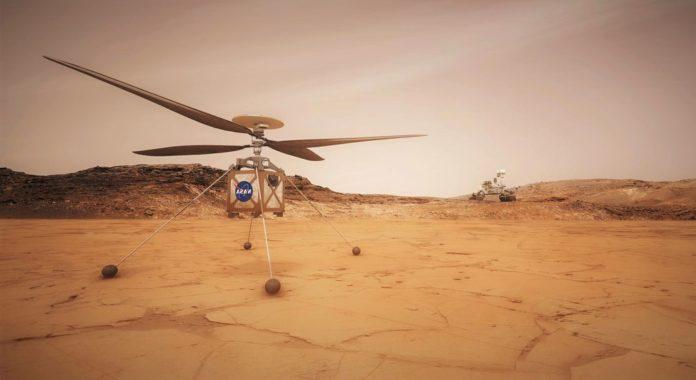 На Марсе пройдет первый полет управляемого вертолета