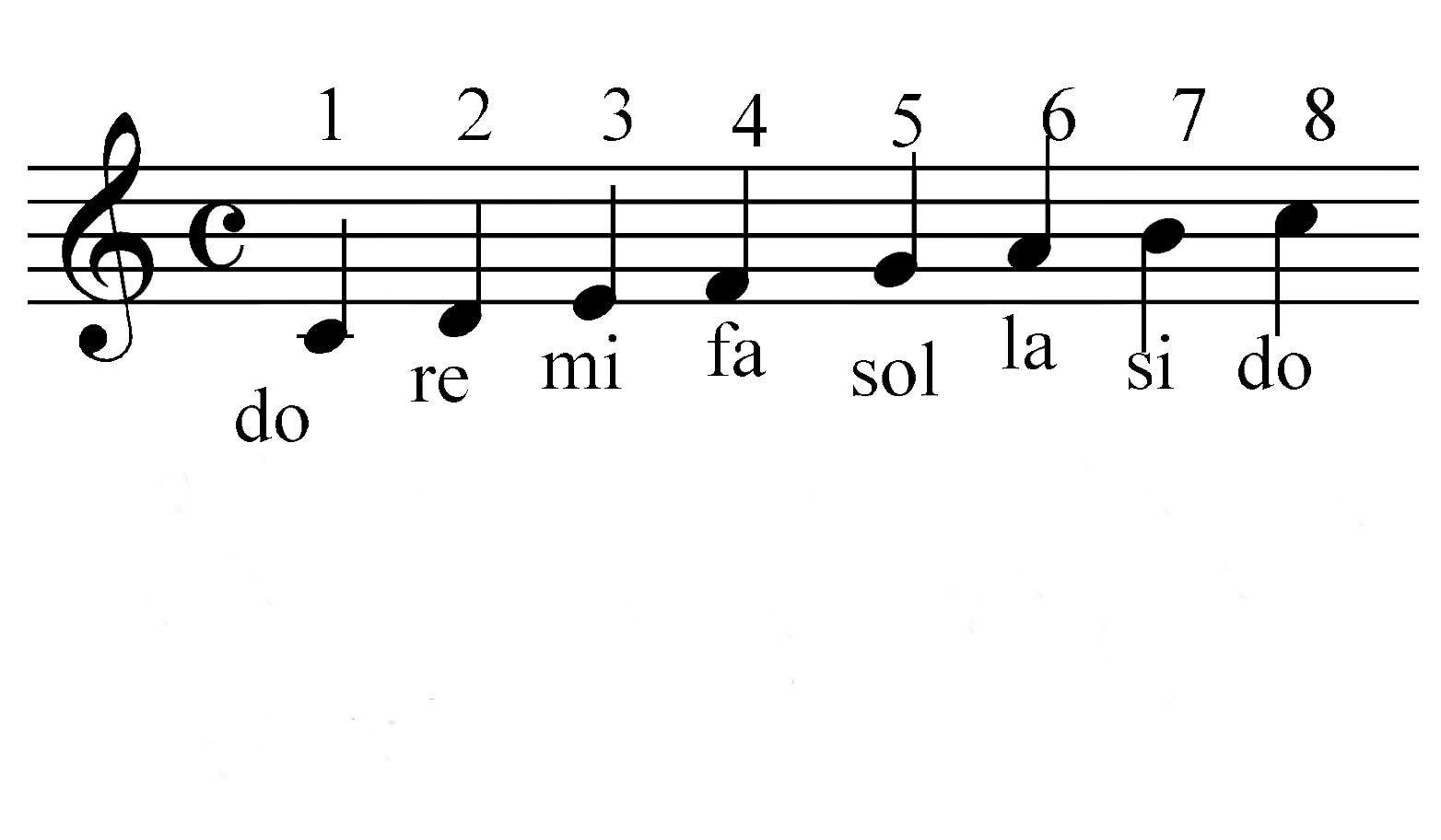 Кто придумал названия семи нот?