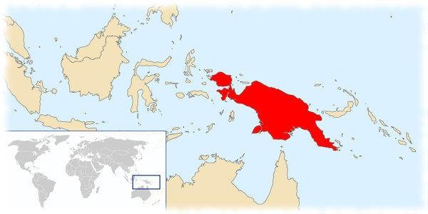 Остров - Новая Гвинея