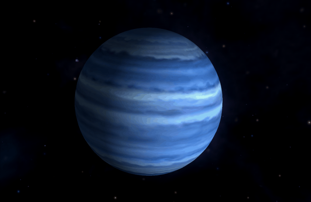 Графический макет Нептуна