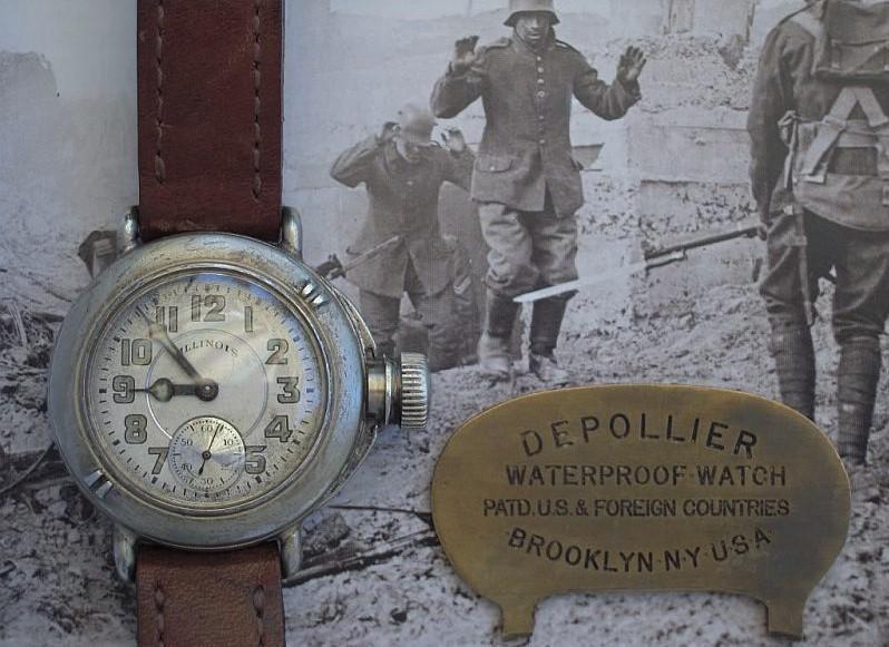 Водонепроницаемые часы американского солдата