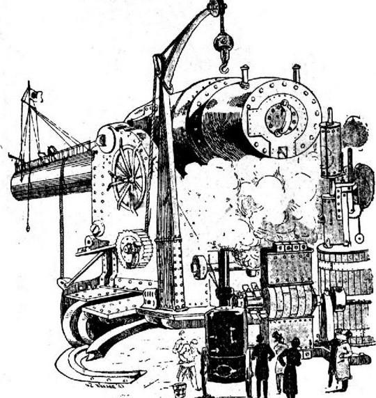 Одна из вариаций ньютоновской пушки