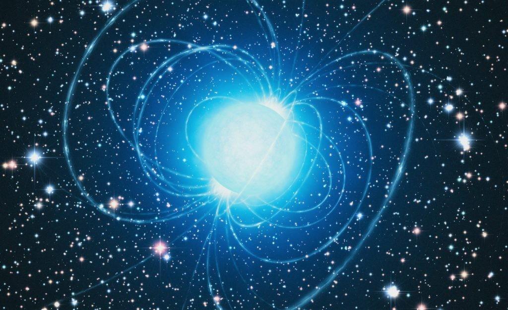 Изображение нейтронной звезды