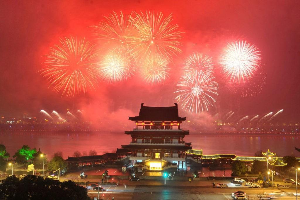 Новый год в Китае приходится на период между 21 января и 21 февраля
