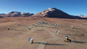 Обсерватория в пустыне Атакама