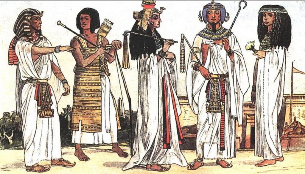 Одежда в Древнем Египте