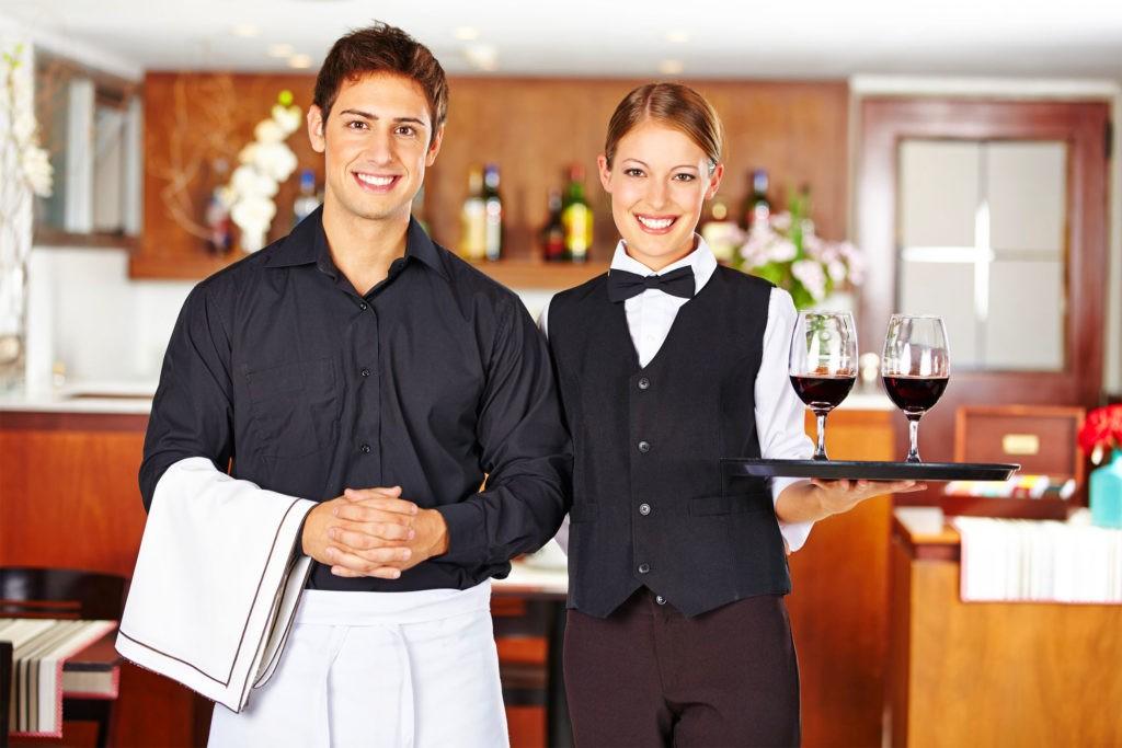 Опрятный, презентабельный внешний вид - первое правило официанта
