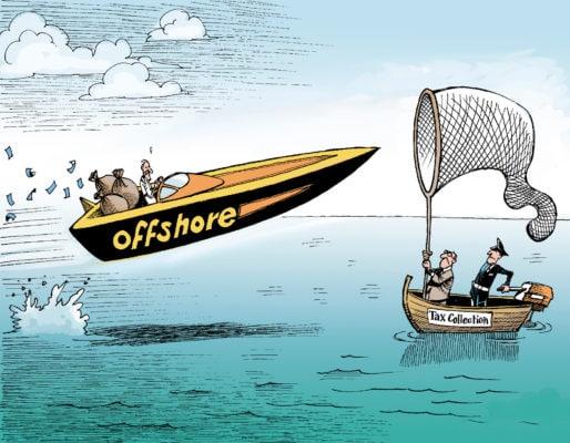 Офшорная зона и налоги