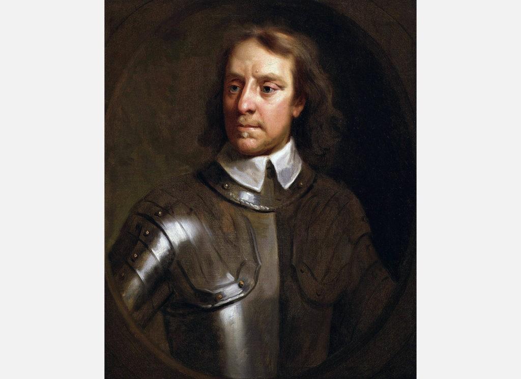 Оливер Кромвель возглавил Английскую революцию XVII века