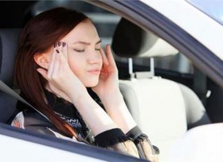 Почему укачивает в машине?