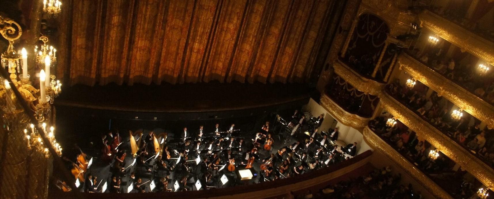 Почему оркестр в театре находится в яме?