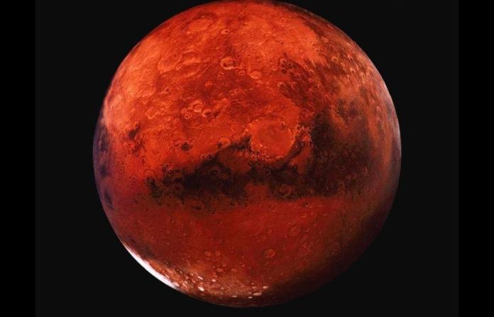 Почему Марс красный?