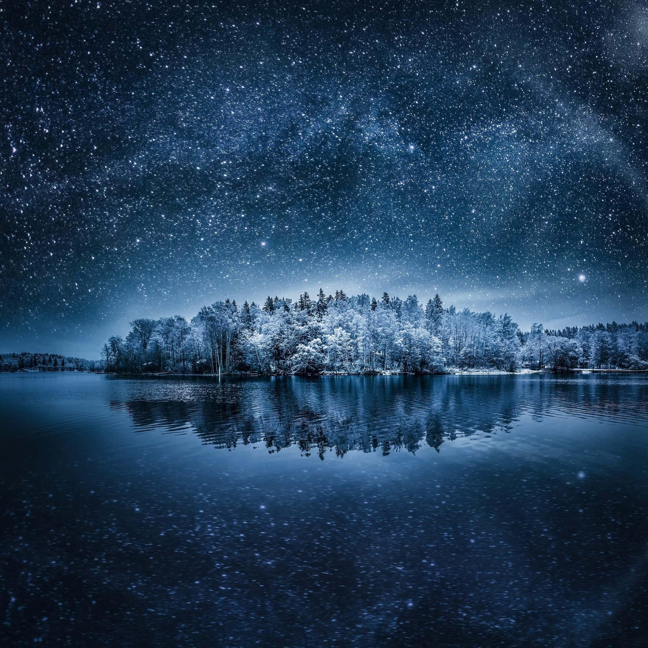 Почему зимой звезды ярче?