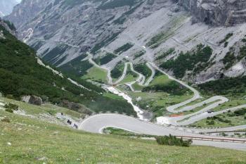 Перевал Стельвио (Италия)