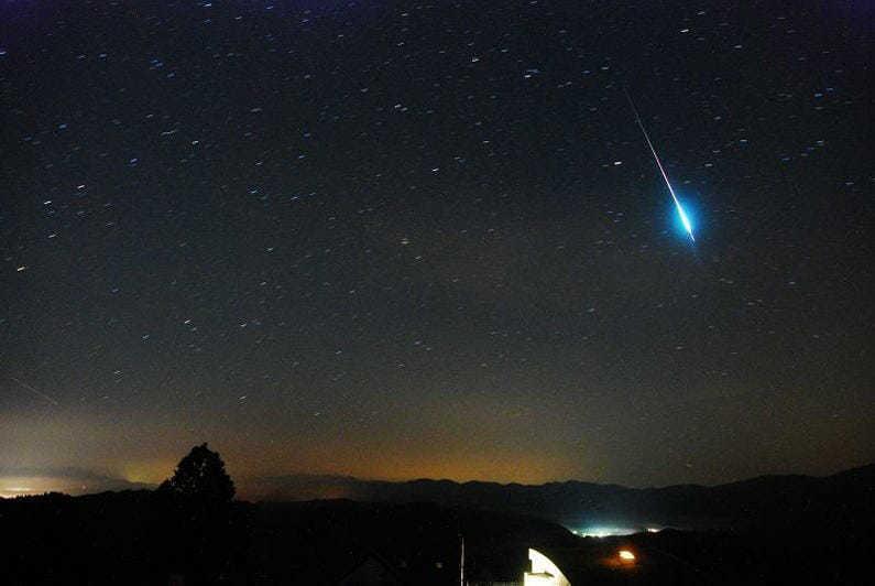 Метеоритный поток: Персеида