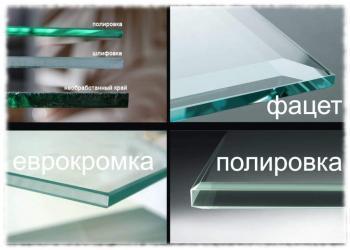 Полировка стекла для зеркал