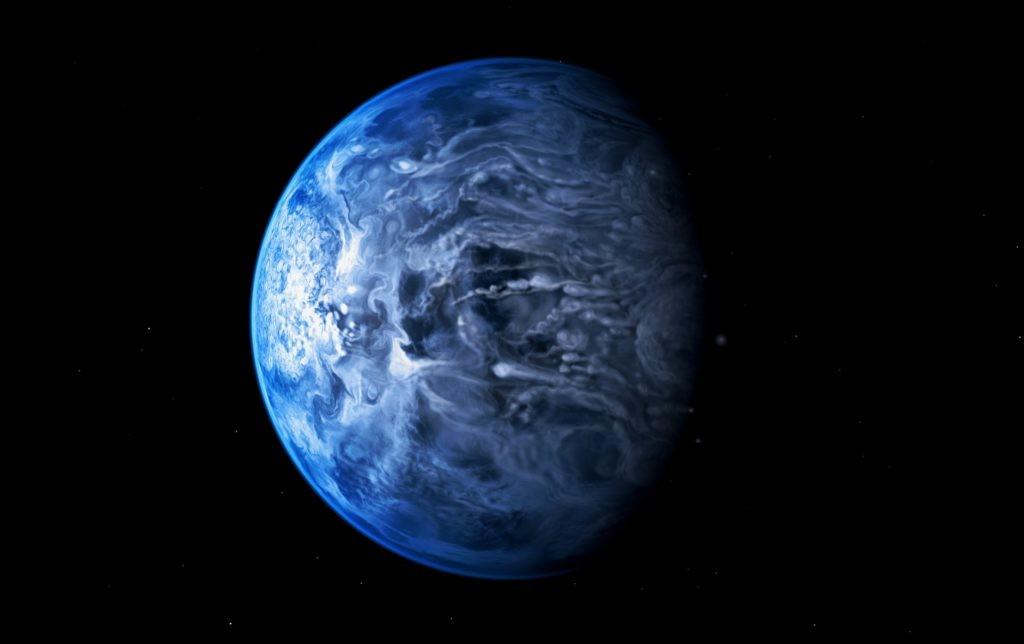 Планета HD 189733 A b, обладающая самыми быстрыми ветрами