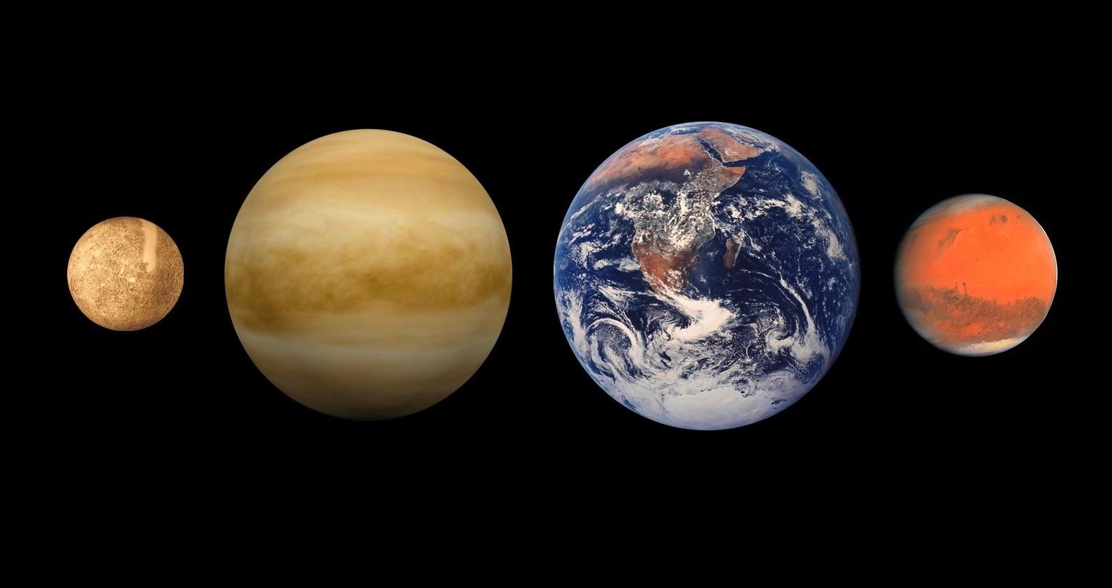 Планеты земной групы – список, описание, размеры, состав, фото и видео