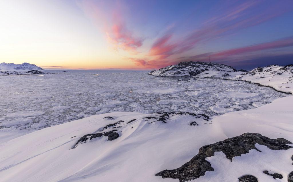 Территория с полярным климатом