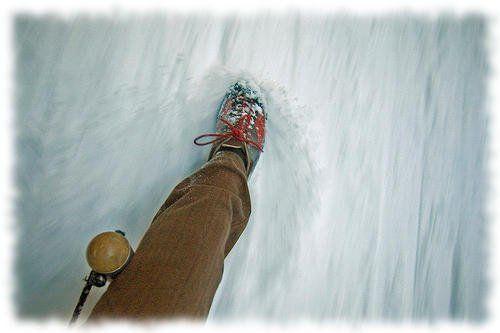 Снег скрипит под ногами