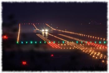 Огни посадочной полосы