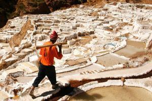 Бассейновый метод добычи соли