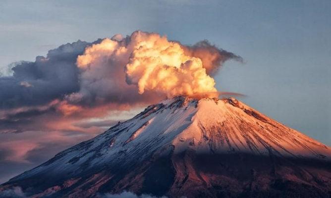 Вулкан - Попокатепетль