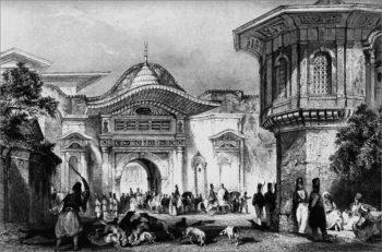 Высокая Порта (ворота) во времена Османской империи