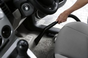 Просушка ковриков в машине