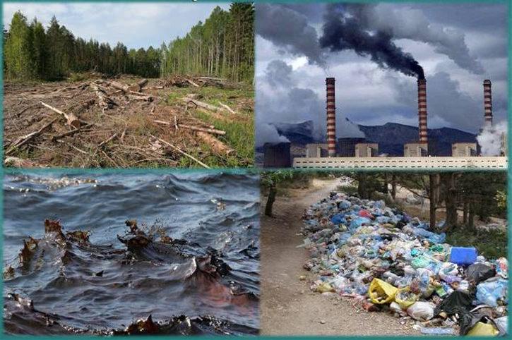Проблемы экологии в России