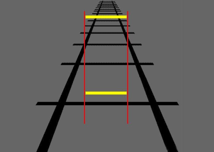 Пример иллюзии удаленности