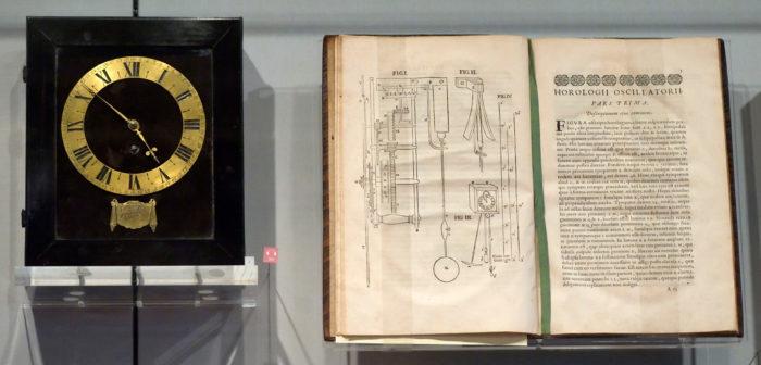 Пружинные маятниковые часы, разработанные Гюйгенсом