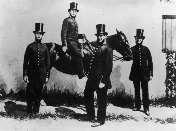 Первые полицейские в Англии