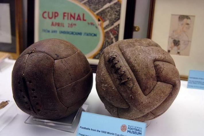 Футбольные мячи 1930 года