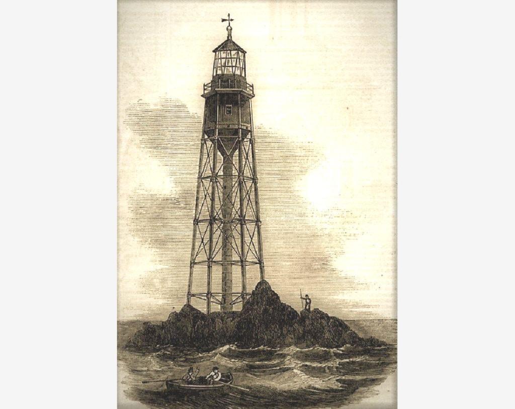 Первый маяк на острове