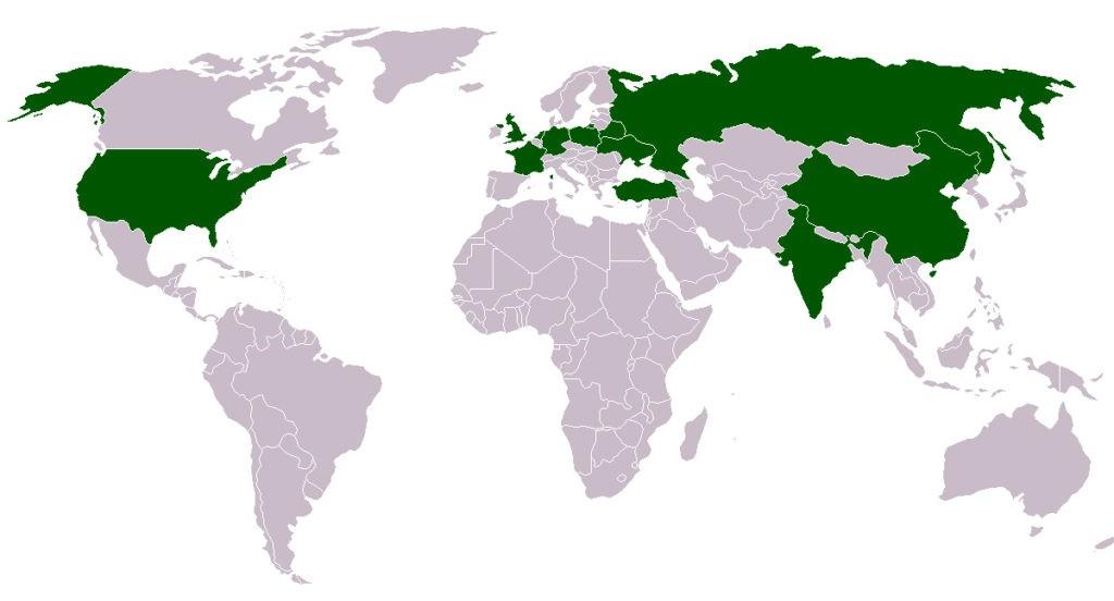Страны-лидеры по производству картофеля