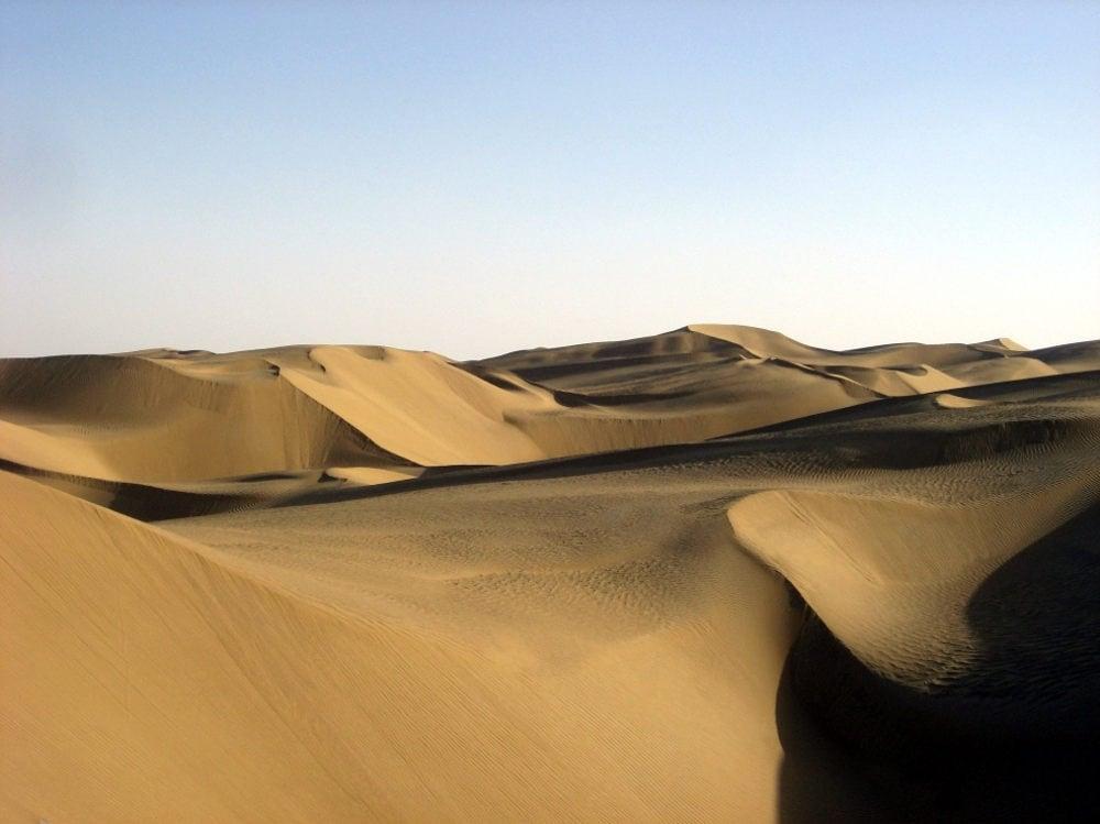 Пустыня Такла-Макан