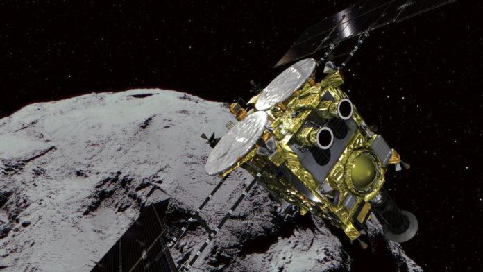 Астрономы обнаружили, что на поверхности астероида Рюгу совсем нет пыли
