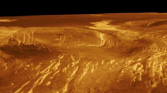 Изображение поверхности Венеры