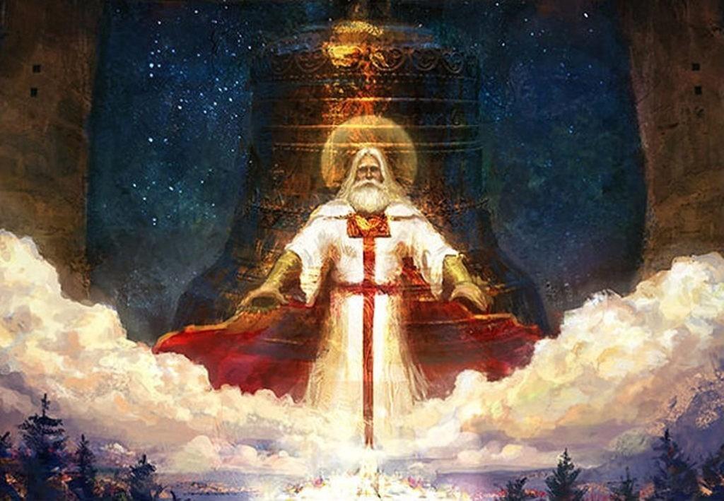 Род - главный бог славян, создатель мира, причиной всех причин