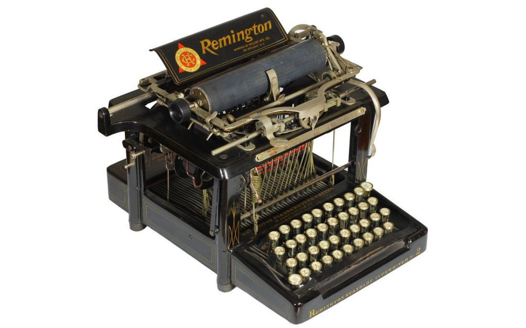 Пишущая машинка Remington No.2