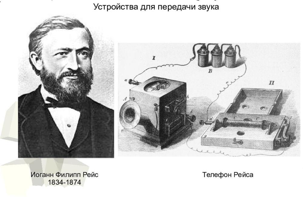 Иоганн Филипп Рейс и телефон