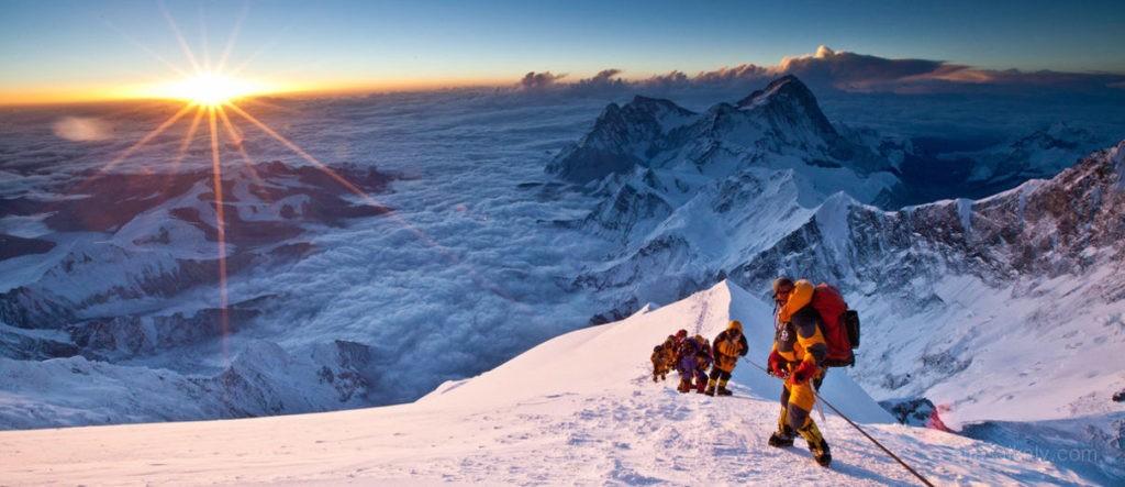 Климат вершины горы Эверест