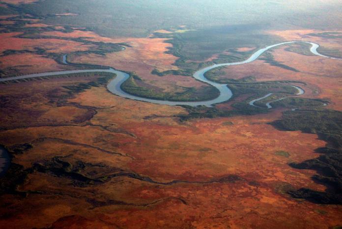 Самые крупные сезонно пересыхающие реки